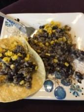 Southwest veggie taco.. nom nom nom